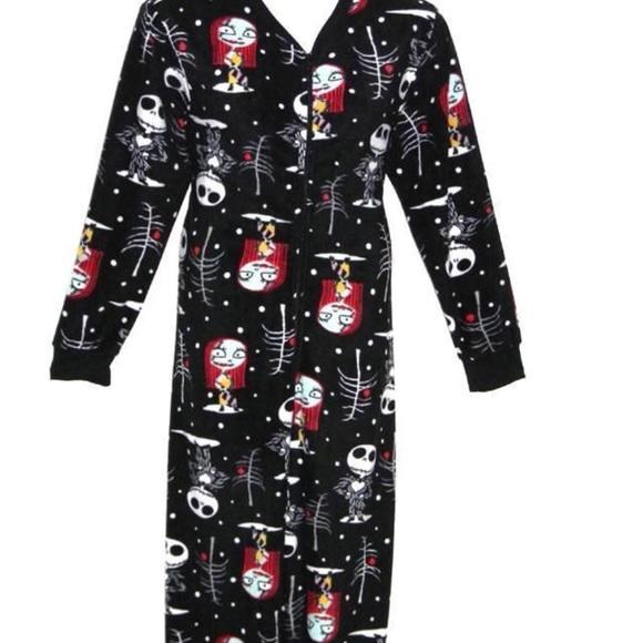 nightmare before christmas onesie pajamas
